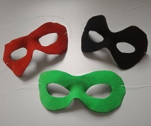 Fitted Costume Masks (No Face Mold)