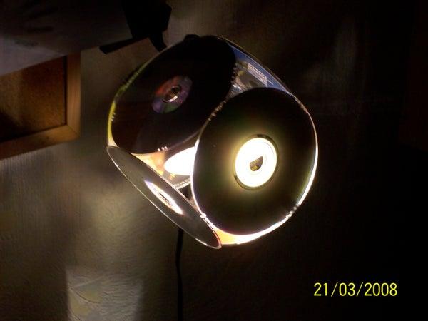 CD Lamp Shade