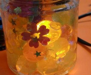 Glowing Mason Jar