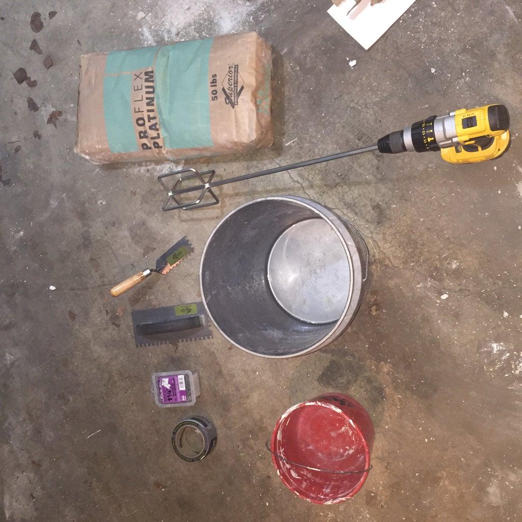 Install Base for Tile
