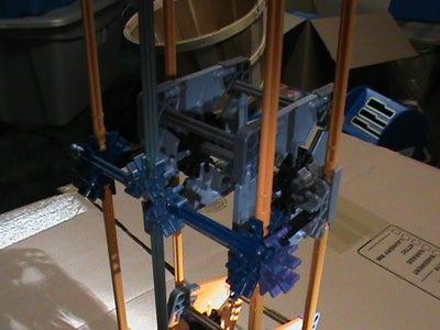 Vertical Panel Pinwheels