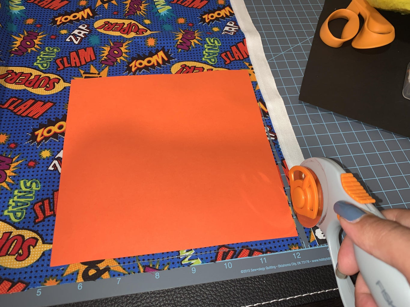 Cutting and Preparing the Fabric