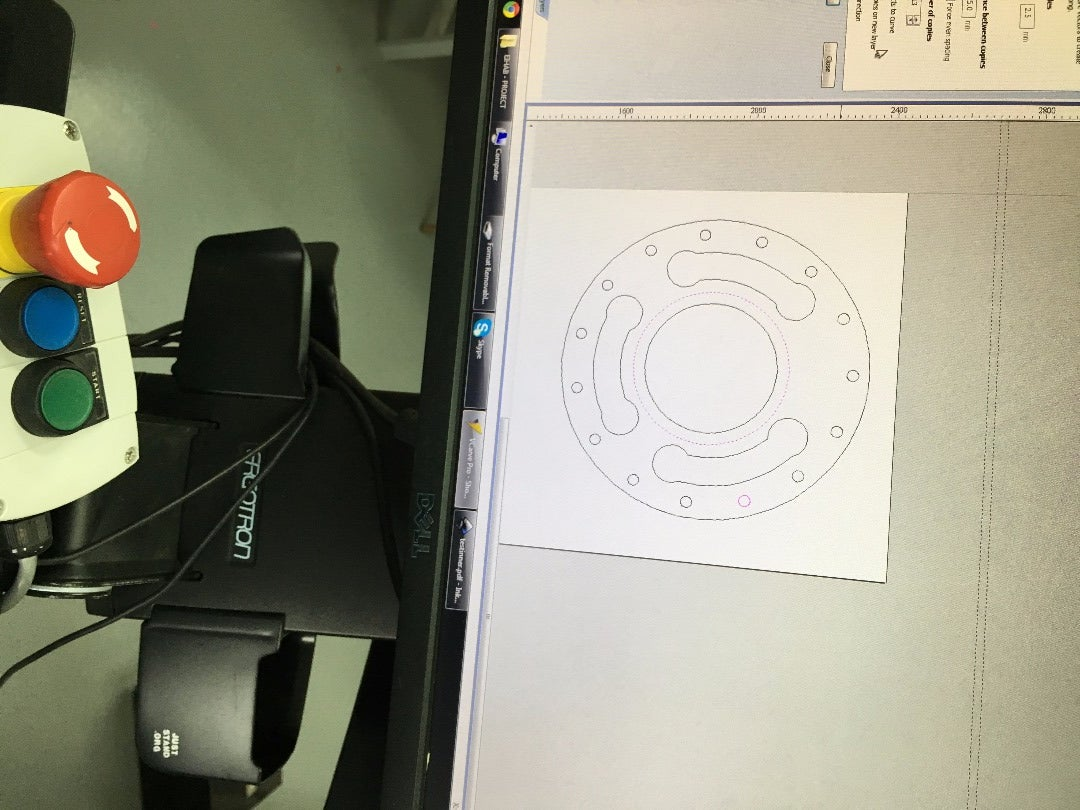 Designing and Cutting the Ring