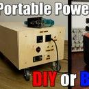 DIY Portable Power Station