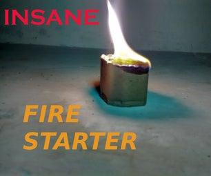 INSANE FIRE STARTER(for Backyard).