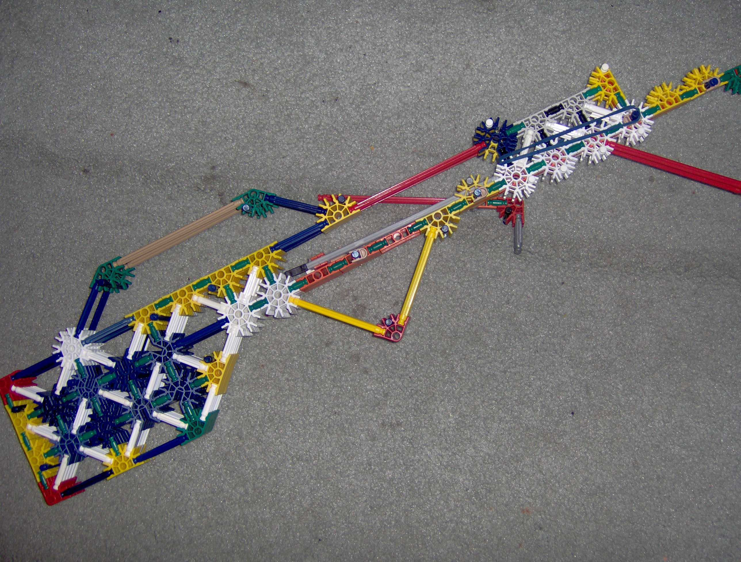 Make An SL9 Assualt Rifle Using K'nex