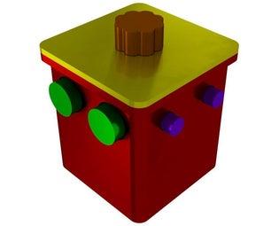 球锁拼图(3D打印)