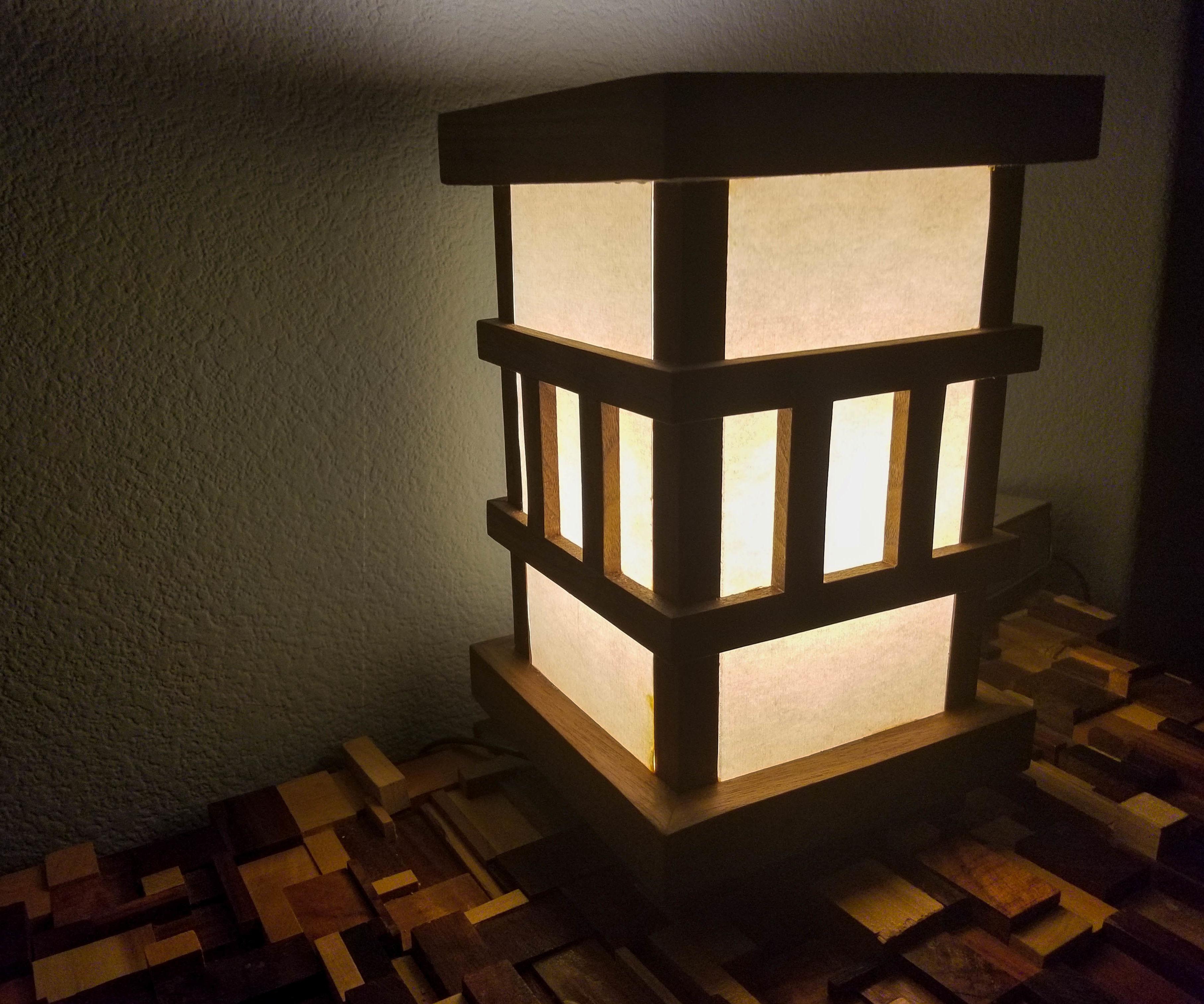 Japanese Style Desk Lamp