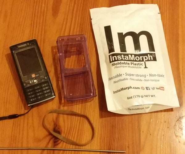 Re-use and Combine. Recycle Old Instamorph and Re-purpose a Phone