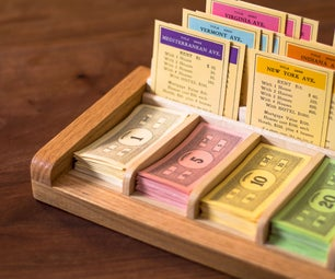 Banker's Station for Monopoly