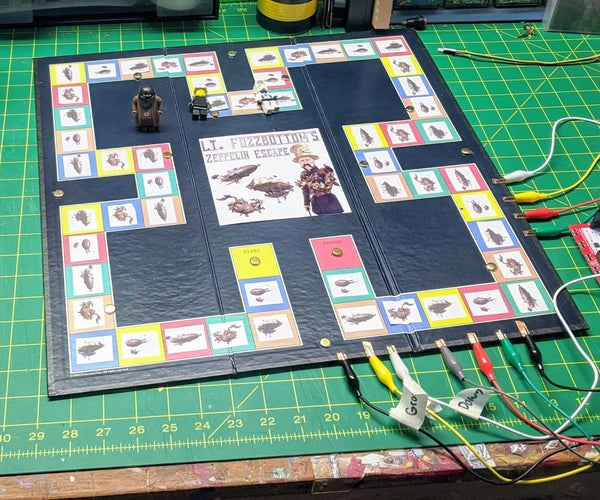 Creating Board Games With Makey Makey