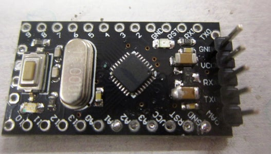 Arduino Power and Serial Pins
