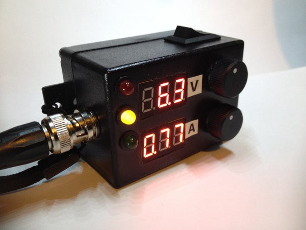 Mini DIY Adjustable Power Supply