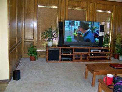 Big Screen Entertainment Center