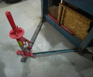 How to Mount a Tire Changer Without Bolting to the Floor