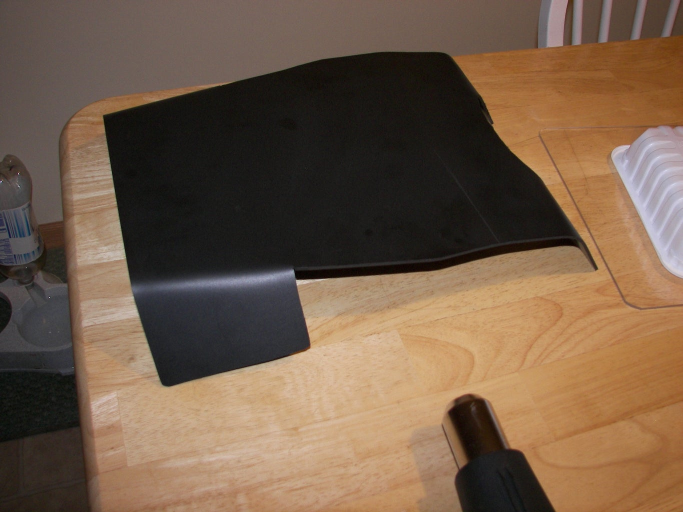 Chest Plate - Bend the PVC Foam Board to the Desired Shape