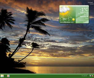 Windows 7 Starter: Easy way to change wallpaper