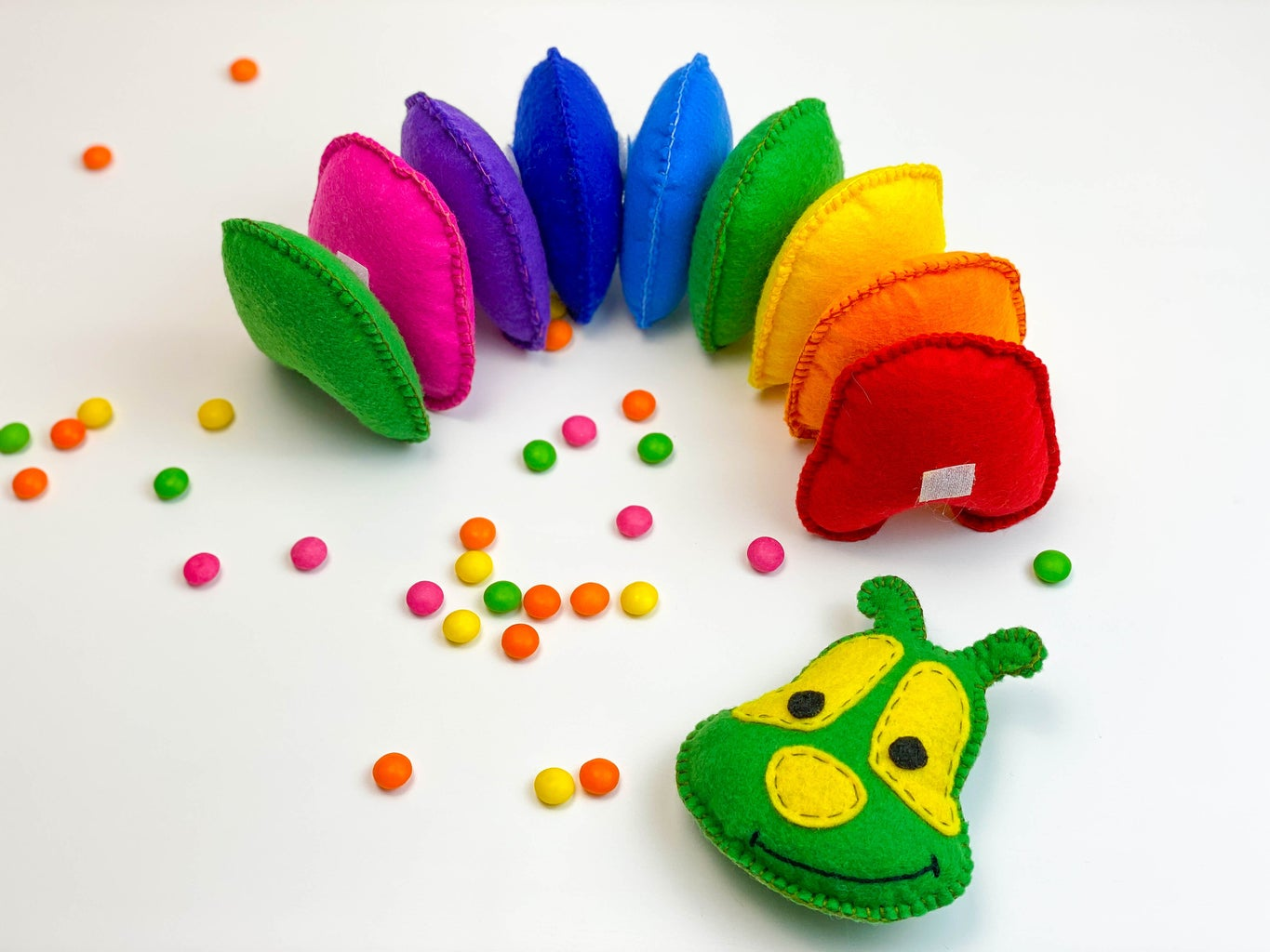 Caterpillar Toy - Colors Early Education