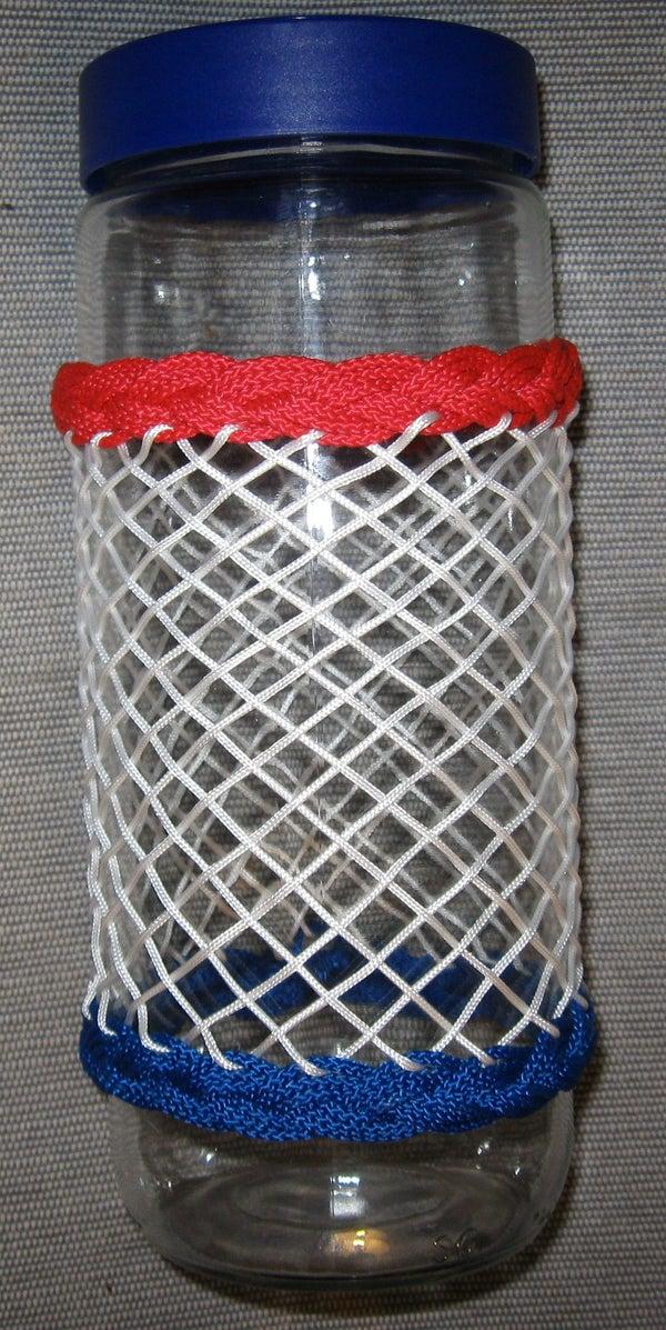 Turks Head Knots on a Bottle