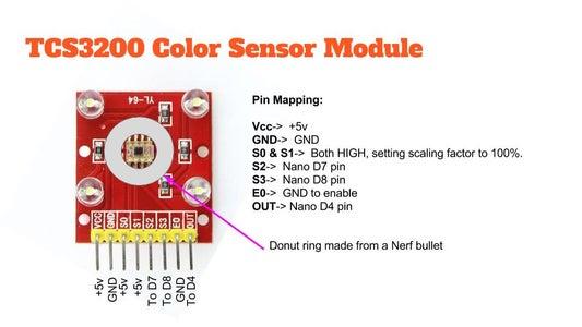TCS3200 Color Sensor