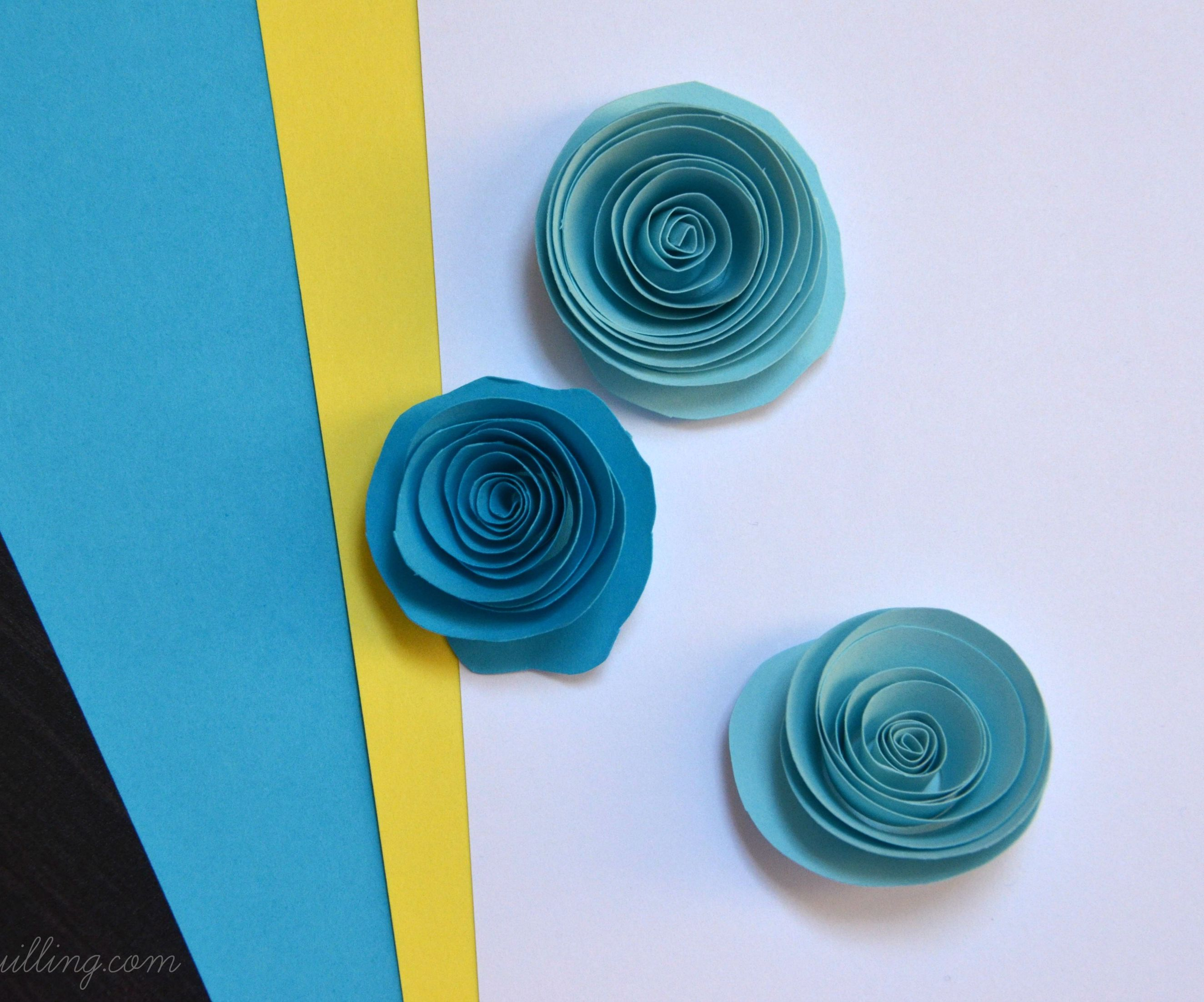 Paper Quilling Roses