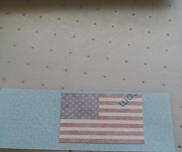 USA Flag for Camaro