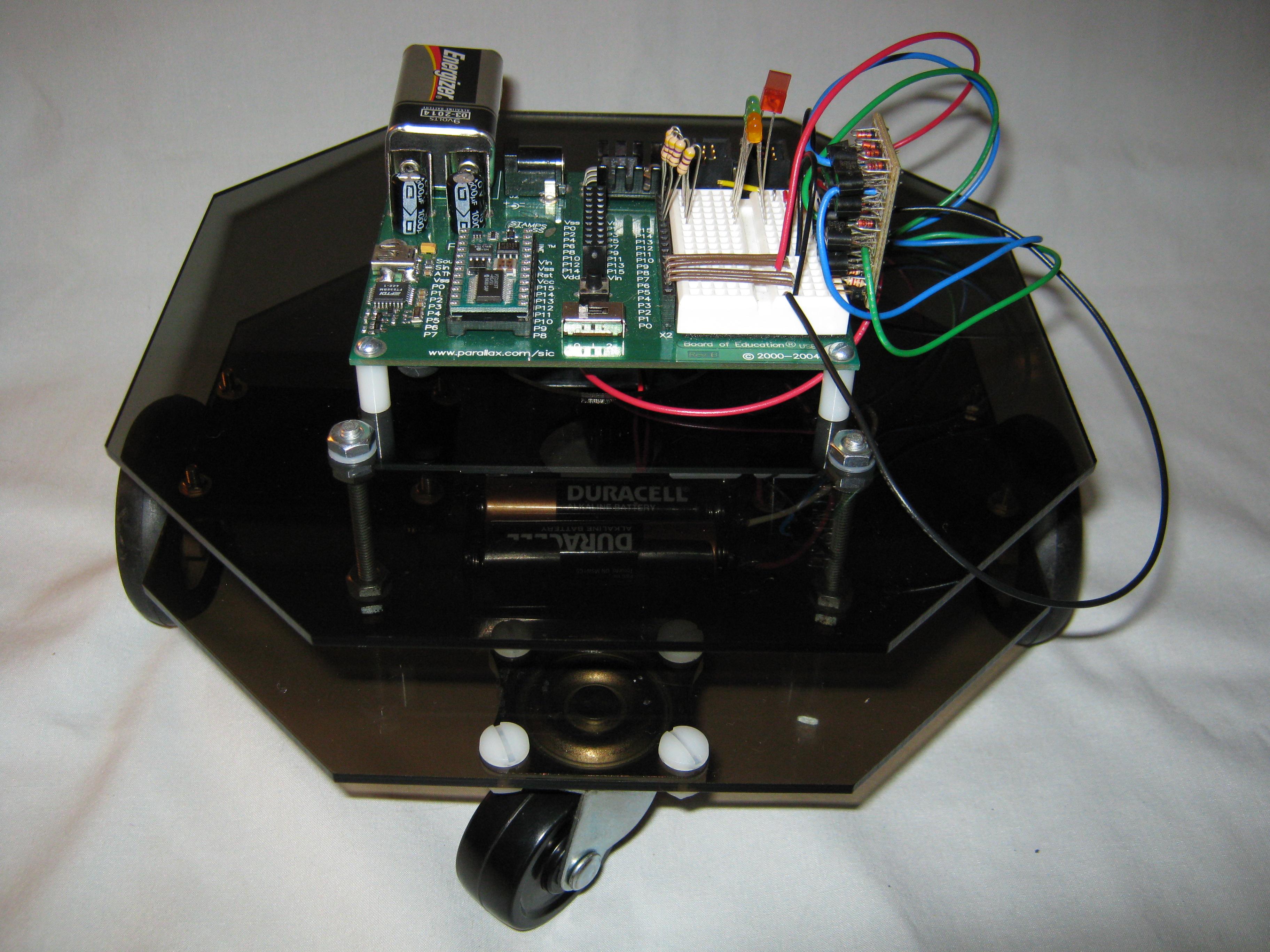 Octagon Acrylic Robot