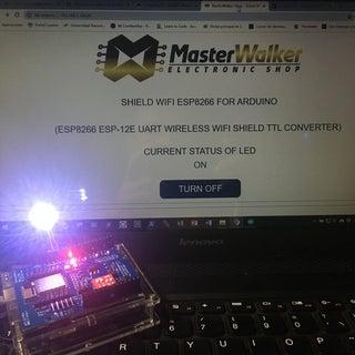 ESP8266 ESP-12E UART Wireless WIFI Shield TTL Converter Uncomplicated