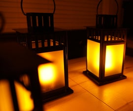Make an Electric Flickering Gaslight Lantern