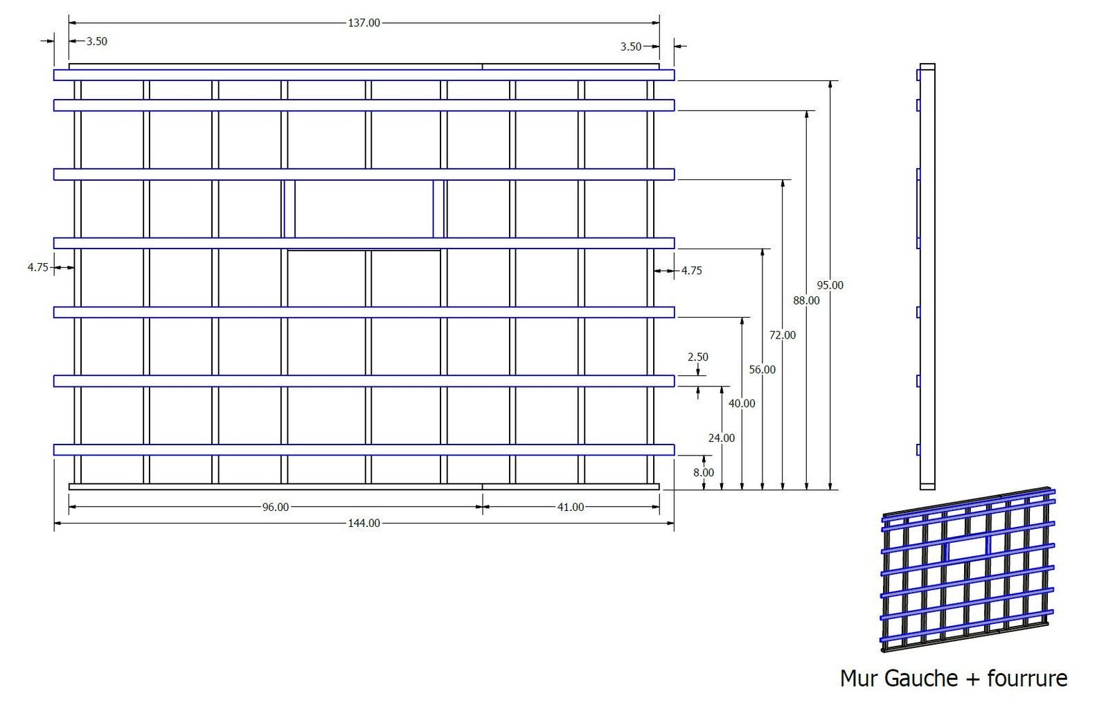 Walls Sub-assembly
