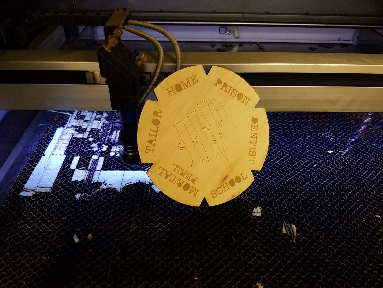 Laser Cut and Prepare the Clock Body