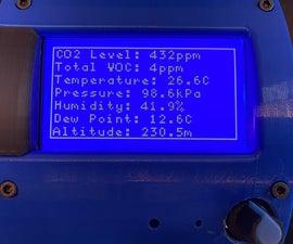 Environmental Sensor for a Science Classroom