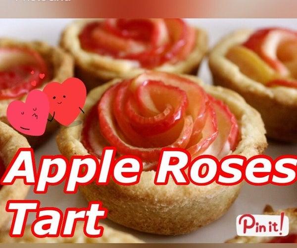 Apple Roses Tart | Valentine Dessert
