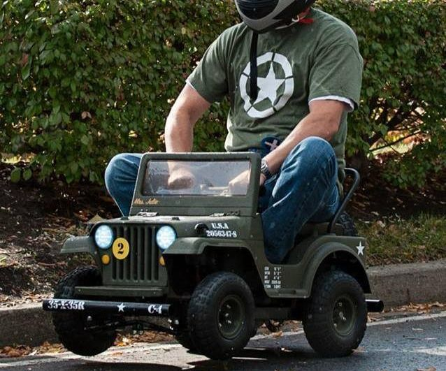 Make a Racing Powerwheels Jeep