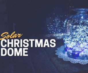 Solar Christmas Dome