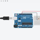 Blinking Led Using Arduino(TinkerCAD)