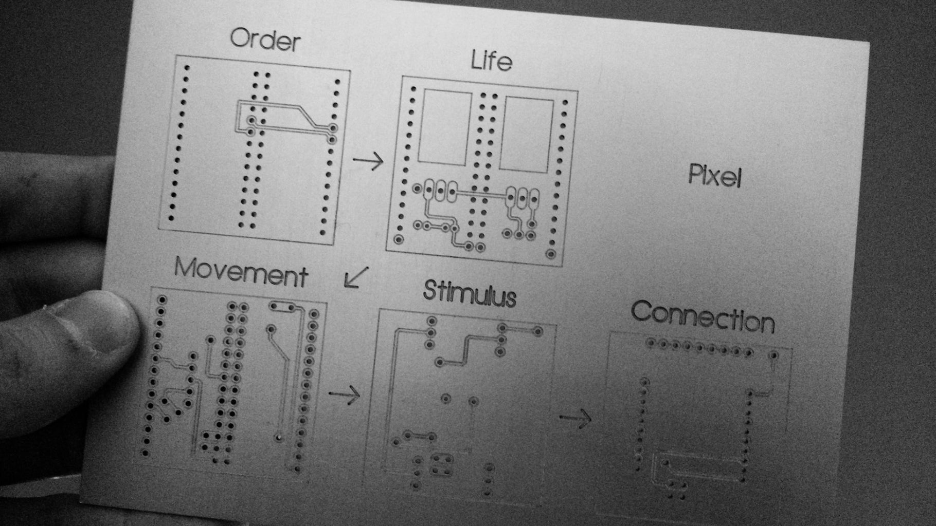 Revise the Electronics. Machine the PCBs With a CNC Machine. Assemble the PCBs.