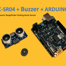 HC-SR04 + Buzzer + Arduino: Sensor de asistencia de estacionamiento