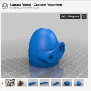 Make Your Laputa Robot