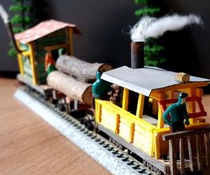 DIY Narrow Gauge N Scale Train