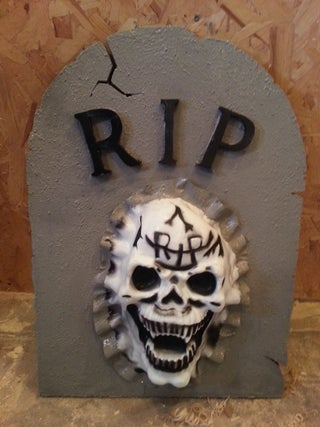 Halloween Tombstone Decoration