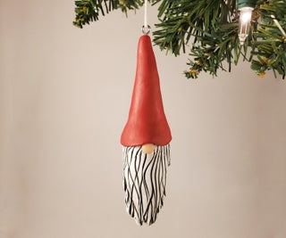Make a Gnome Ornament—Out of Clay!