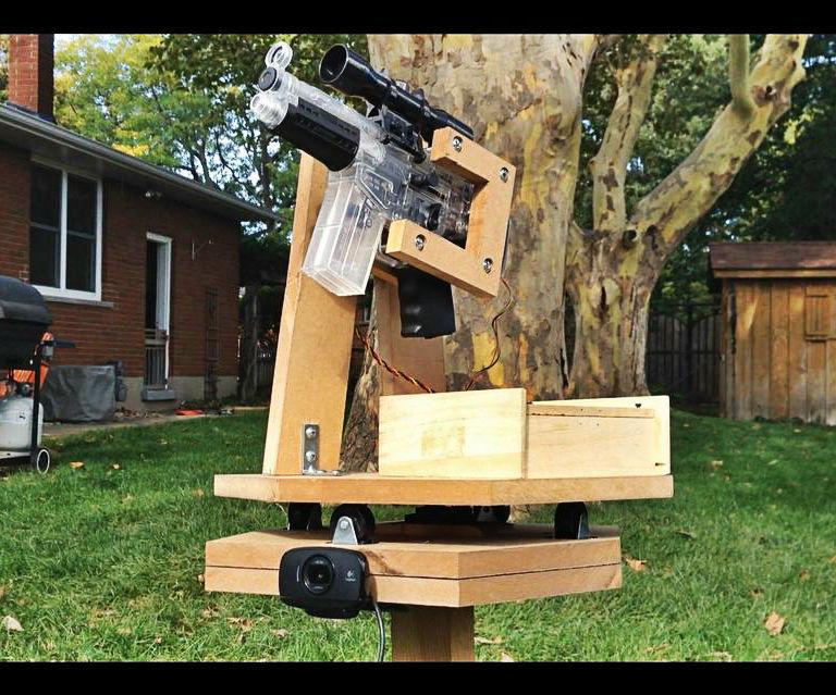 How to Make a Airsoft Sentry Gun
