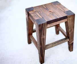 How to Make a DIY Bar Stool