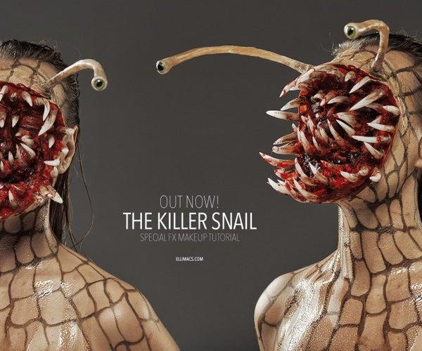 Killer Snail - Halloween SFX Makeup Tutorial