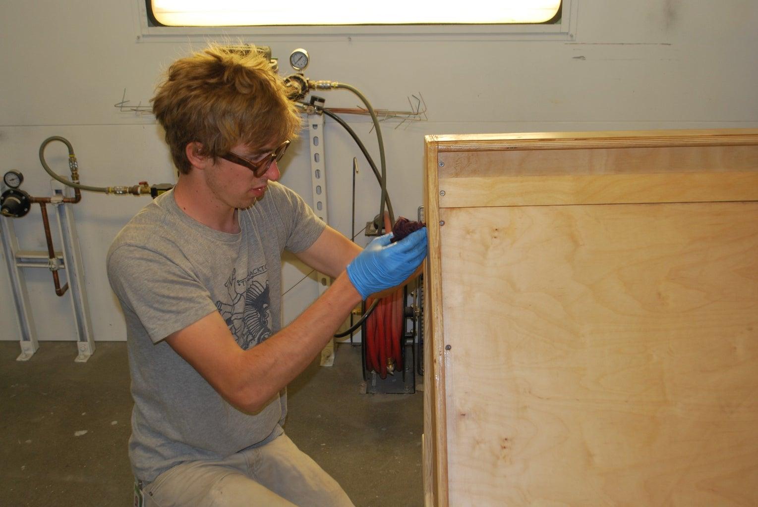 Sealing the Wood