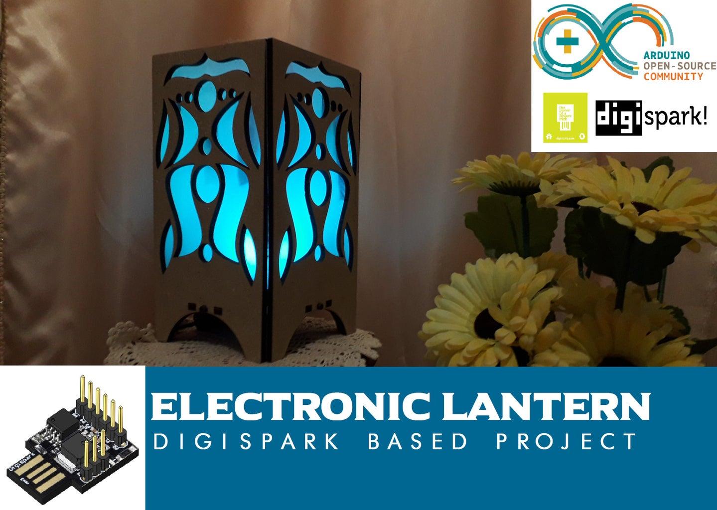 Digispark Lantern (ATtiny85 Project)