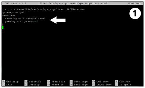 Setup the Raspberry Pi Software