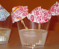 Summer Crafts for Kids: Dum Dums Drink Umbrellas