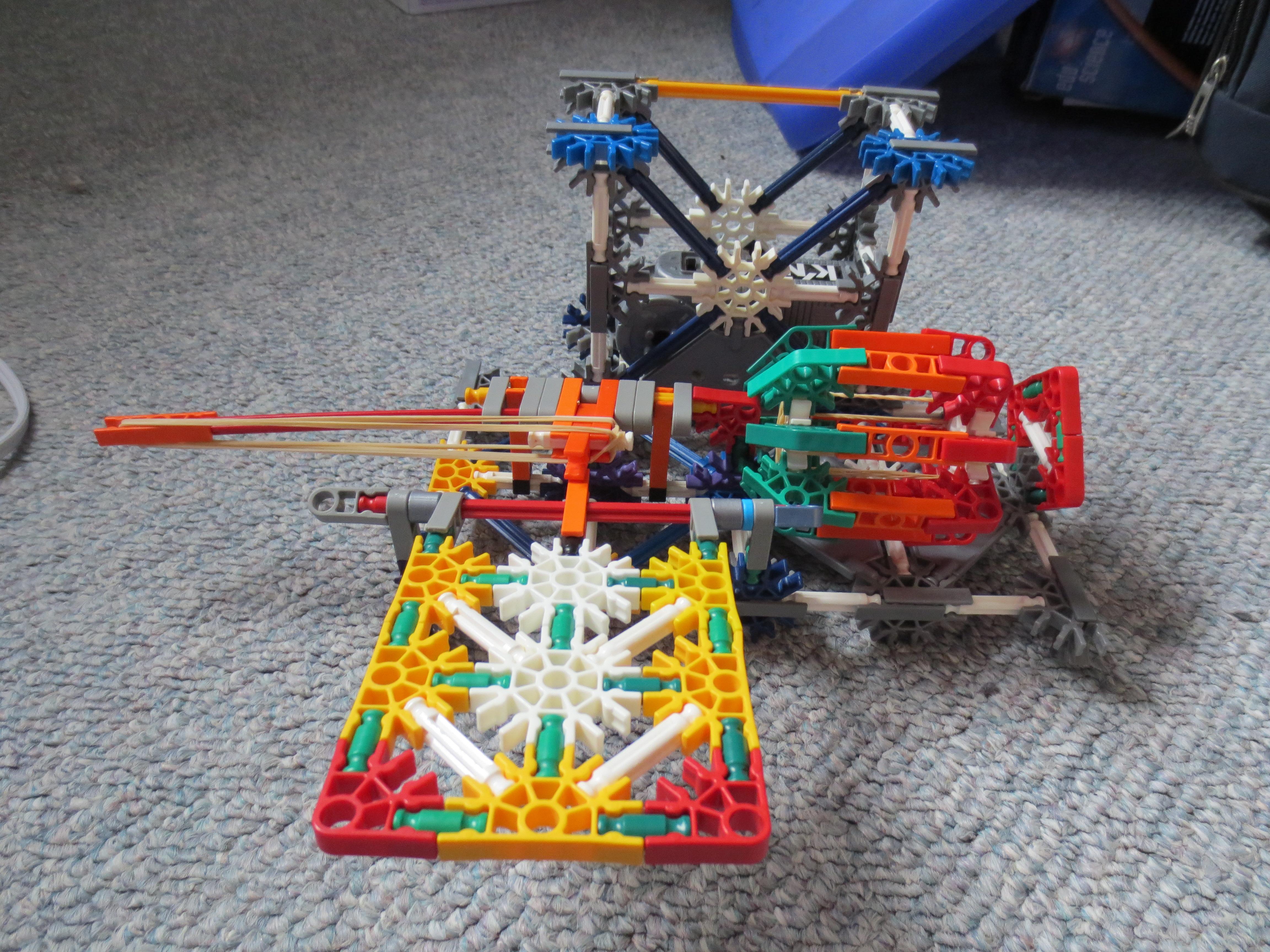 Knex Pedal Activated Landmine